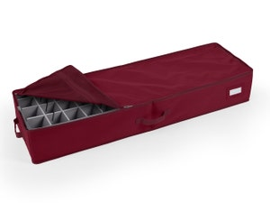 24-96PC Adjustable Underbed Storage Bag - Includes (4) 3 Inch Trays