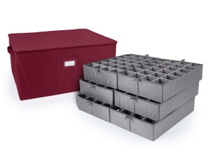 Adjustable Zip-Top Storage Box - Up To 144 Standard Compartments