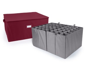 Adjustable Zip-Top Storage Box - Up To 48 XTall Compartments
