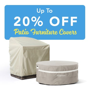Outdoor Patio Furniture Covers | Cover Store™
