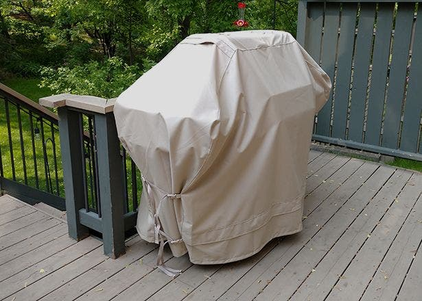 Grill protected by a high-quality cover from Coverstore