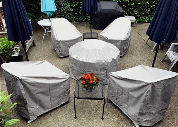 Seating and chair covers