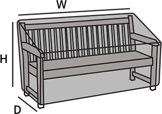 Incredible Outdoor Bench Covers Coverstore Caraccident5 Cool Chair Designs And Ideas Caraccident5Info