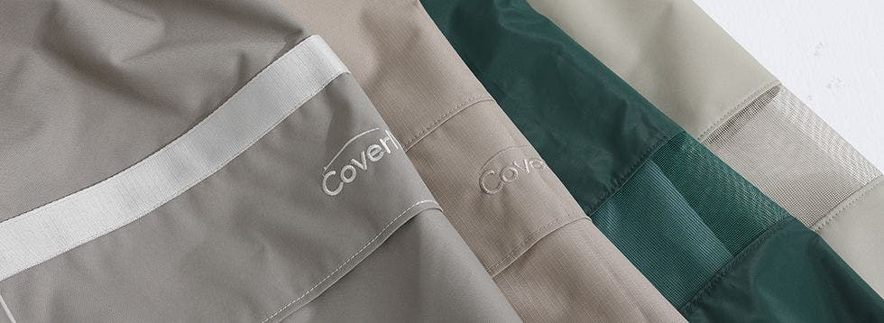 Covermates material collections